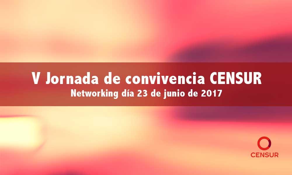 V Jornada convivencia CENSUR – Networking día 23 de junio de 2017