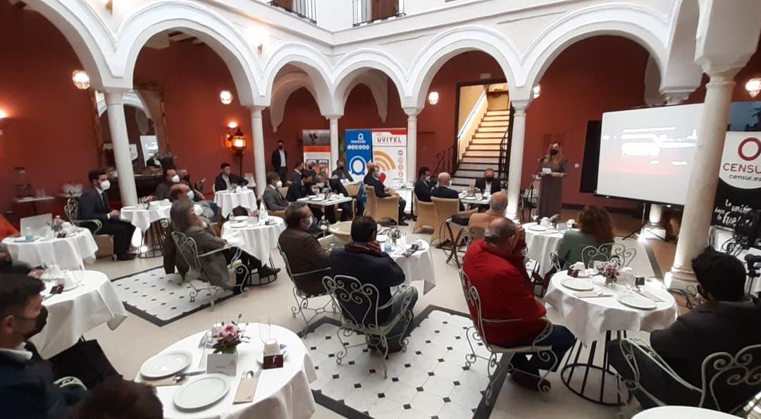 CENSUR vuelve con gran éxito, de manera presencial, a sus encuentros Networking entre empresas